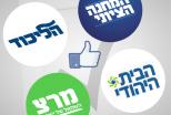 אם הפריימריז היו מתקיימים בפייסבוק?