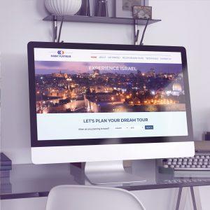 עיצוב אתר אינטרנט, טיולים, הדרכות