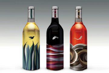 תוויות יין מעוצבות